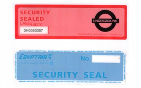Защитен етикет без остатъчна следа (по поръчка)